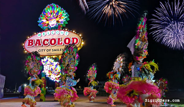 Bacolod Welcome Marker - Northill Gateway Marker - Bacolod tourist stop - Bacolod City - Megaworld - MassKara Festival - Bacolod real estate - Bacolod blogger - lifestyleblogger - MassKara dancers - fireworks
