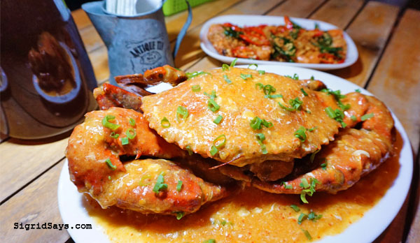 Bacolod restaurants - Fafi's Fusion - Singapore cuisine - Singaporean cuisine - Singapore chilli crab - Bacolod chef - Bacolod blogger - Bacolod food blogger - chili crab cover