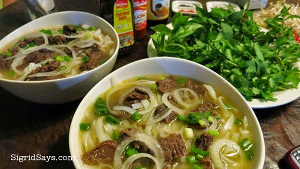 Bacolod restaurants for casual dining - Rau Ram Vietnamese Restaurant - Bacolod food blogger - Bacolod blogger