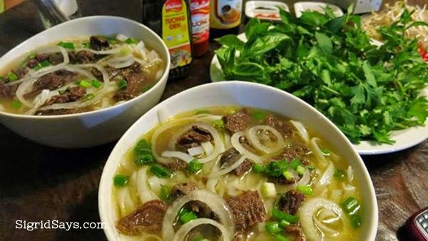 Bacolod restaurants for casual dining - Rau Ram Vietnamese Restaurant - Bacolod food blogger - Bacolod blogger