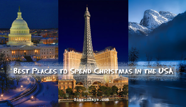 Best Places to Spend Christmas in the USA - travel - family travel - Bacolod blogger