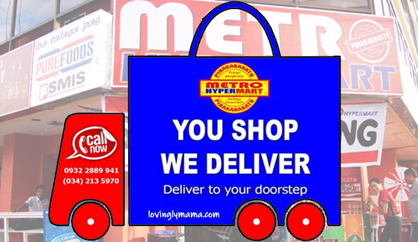 Metro Hypermart Bacolod Grocery Delivery Now Available