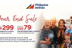 Philippine Airlines Launches Year End Seat Sale 2018