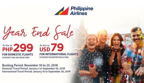 Philippine Airlines seat sale - travel - visit Philippines - travel blogger - Bacolod blogger