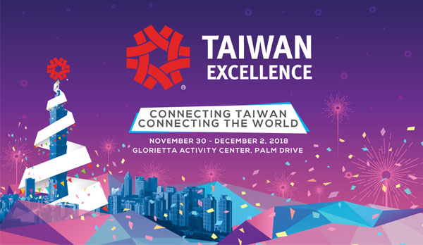 Christmas Gift Ideas at the 2018 Taiwan Excellence Experience Zone