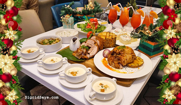 The Christmas Family Platter at Seda Capitol Central | Bacolod Hotel