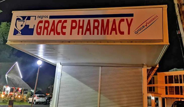 Negros Grace Pharmarcy - Ayala - Western Visayas - Bacolod pharmacy - Bacolod blogger - businer merger - Bacolod business - night