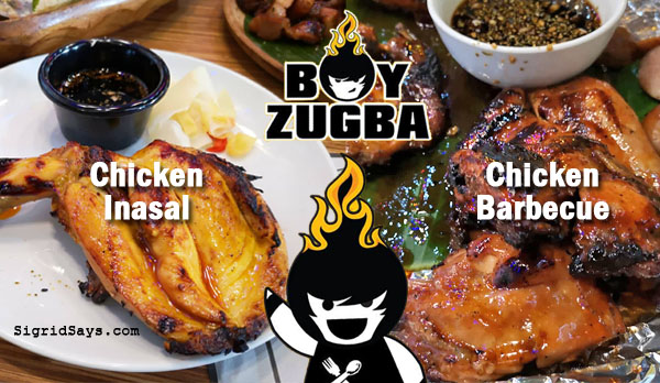 Boy Zugba Bacolod - grilled foods - Bacolod chicken inasal - Bacolod restaurants - Bacolod blogger - Ayala Malls Capitol Central - chicken BBQ - native foods - pinoy foods - pinoy dishes - grilled seafood