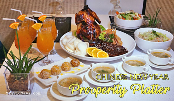 Chinese New Year - Prosperity Platter - Bacolod restaurants - Bacolod hotels - Seda Capitol Central - Bacolod blogger