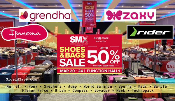 Grendha, Ipanema, Zaxy, Rider Join SMX Shoes and Bags Sale