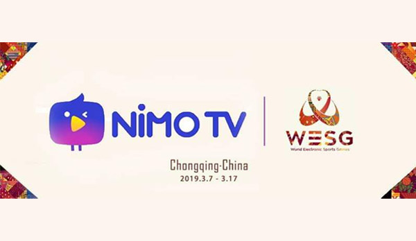 Nimo TV Partners with AliSports for Broadcasting of World Electronic Sports Games 2019