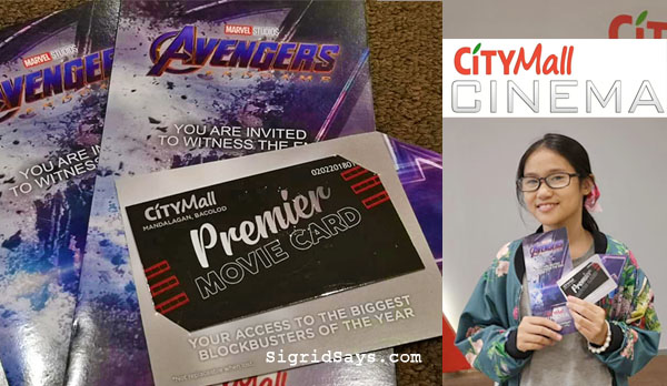 What is the CityMall Cinema Movie Card | Bacolod Launch