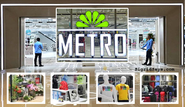 The Metro Stores Bacolod - The Metro Department Store and Supermarket Bacolod - Bacolod blogger - Ayala Malls Capitol Central - The Metro Department Store Bacolod