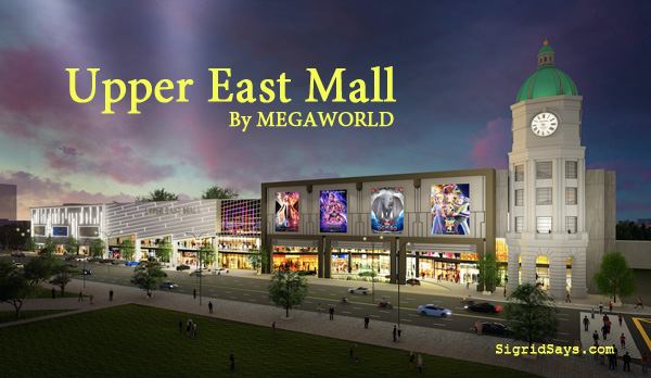 Upper East Mall Bacolod by Megaworld - Bacolod green mall - shopping - Bacolod real estate - Bacolod blogger - night