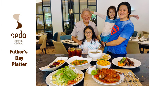 Celebrate with a Father's Day Platter at Seda Capitol Central