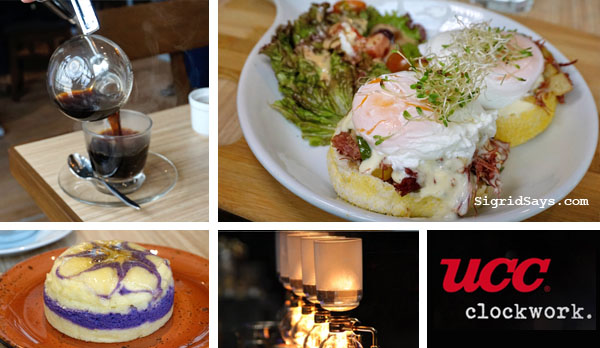 UCC Clockwork Coffee Bacolod: Good Food and Great Coffee Pairing