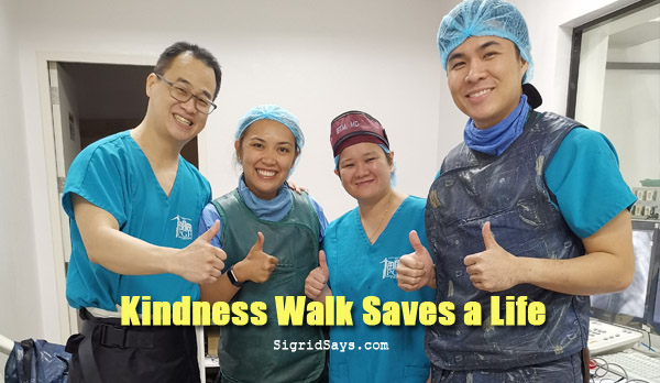 Kindness Walk: Teamwork of a Blind Man and a Bacolod Pediatric Cardiologist