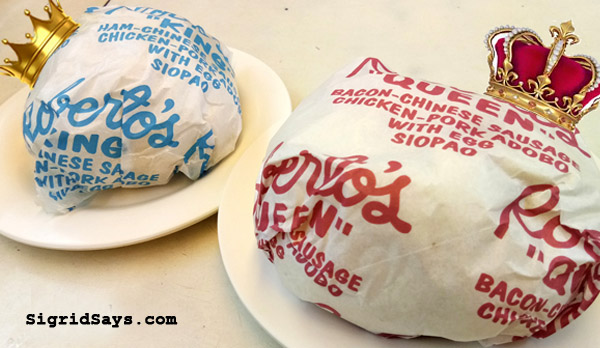 Roberto's Siopao Iloilo - Iloilo restaurants - Bacolod blogger - family travel - king and queen siopao