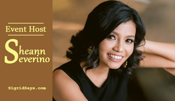 Professional Event Host Sheann Severino