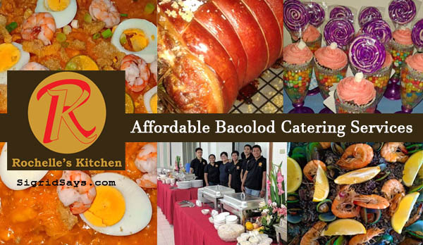 Affordable Bacolod Catering Services - Rochelle's Kitchen catering and food services - Bacolod mommy blogger - Bacolod blogger - Bacolod food - party setup