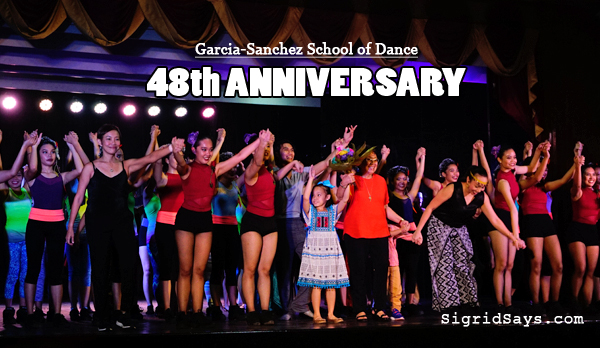 Bacolod dance school - Bacolod ballet school - Bacolod blogger - 48th anniversary bow - Garcia-Sanchez School of Dance