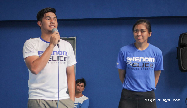 athletic training in Bacolod - sports science - Bacolod blogger - kiefer ravena - alyssa valdez
