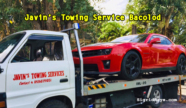 Javin's 24-Hour Towing Service Bacolod