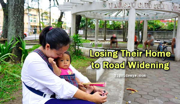 #PlsSaveMe - Losing their home to road widening - Bacolod blogger - Talisay City plaza