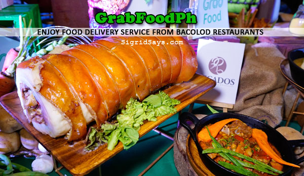 food delivery from Bacolod restaurants - GrabFoodph - food delivery app - Bacolod blogger - Recados porchetta