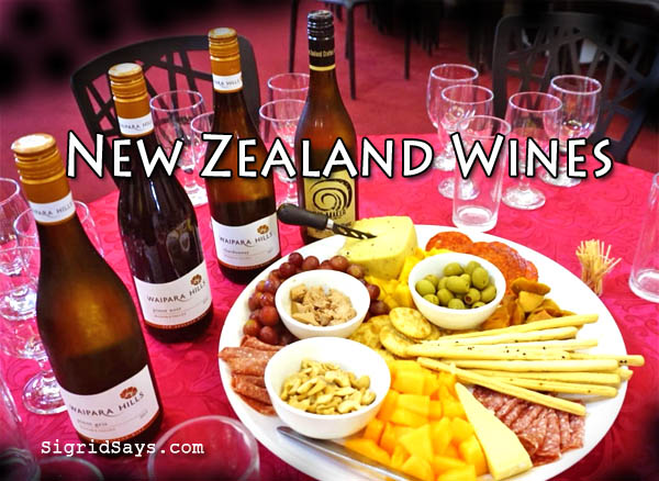 New Zealand wines in Bacolod - Waipara Hills - Hay Maker - Bacolod blogger - Bacolod restaurants - wine tasting -cheese platter