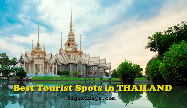 best tourist spots in Thailand - Thai food - Thai royal temple - title