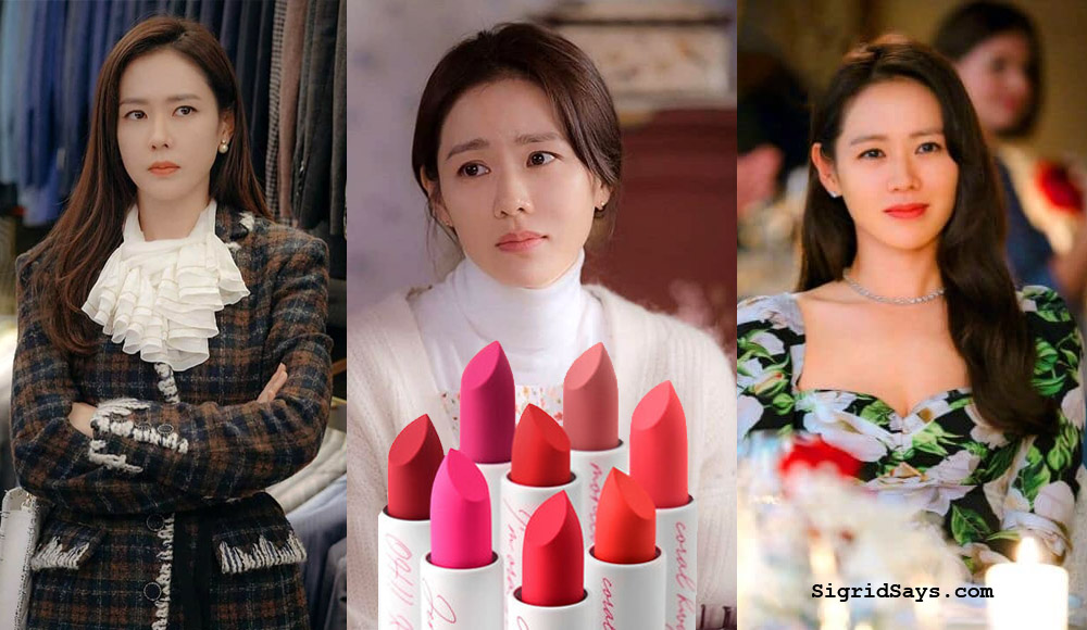 Jennyhouse Air Fit Lipstick - Son Ye-Jin, glam squad - Bacolod blogger - beauty - Korean cosmetics - Yoon seri different looks