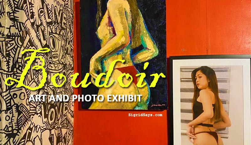 boudoir art and photo exhibit - painting - photograph - tippys bistro - maya art gallery - bacolod artists - bacolod blogger - cover