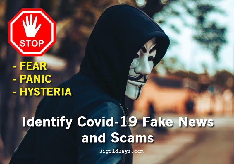 Identify Covid-19 Fake News and Scams