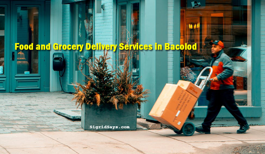 food and grocery delivery services in Bacolod - Bacolod blogger - Bacolod restaurants - covid-19 home quarantine - enhanced community quarantine