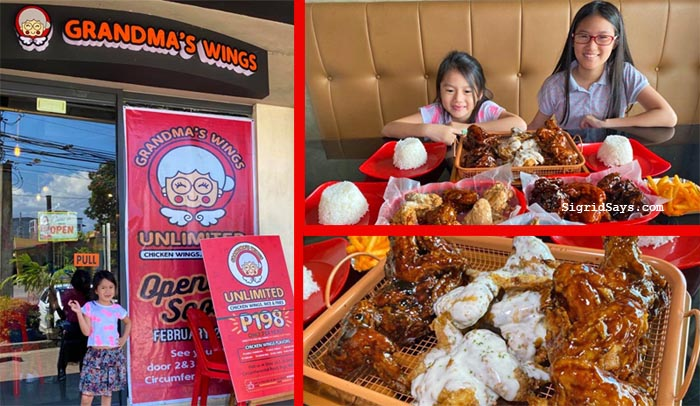 Grandma's Unli-Wings Bacolod: Insanely Big Servings and 7 Awesome Flavors
