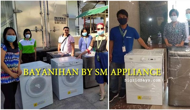Bayanihan by SM Appliance - SM City Bacolod - SM Cares Foundation - Bacolod blogger - Covid-19 - helping