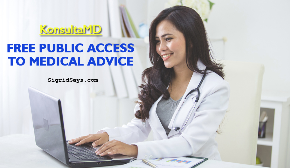 KonsultaMD Provides 30-day Free Medical Advice to the Public