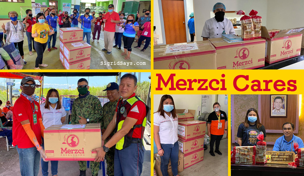 Merzci Cares - Covid-19 relief - Bacolod City - Philippines - breads - relief packs - barangays - hospitals - kay