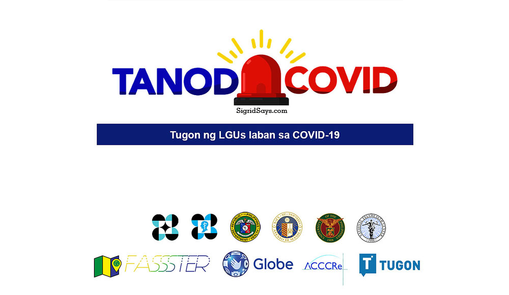 Covid-19 contact tracing - Globe Telecom - TanodCovid - Philippines - technology - SMS - online platform