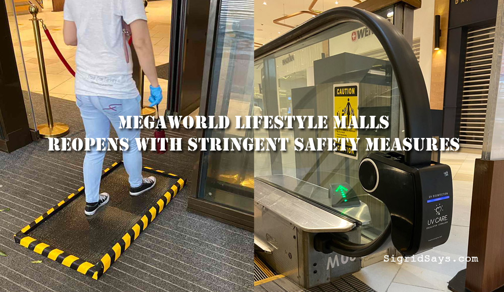 Megaworld Lifestyle Malls - Alliance Global Inc - Bonifacio Global City - Covid-19 - safety protocols - IATF