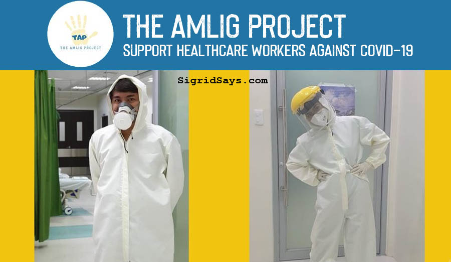The Amlig Project - PPEs for healthcare workers - N95 masks - Hazmat - donation drive - Bacolod City Covid-19 support - hospital
