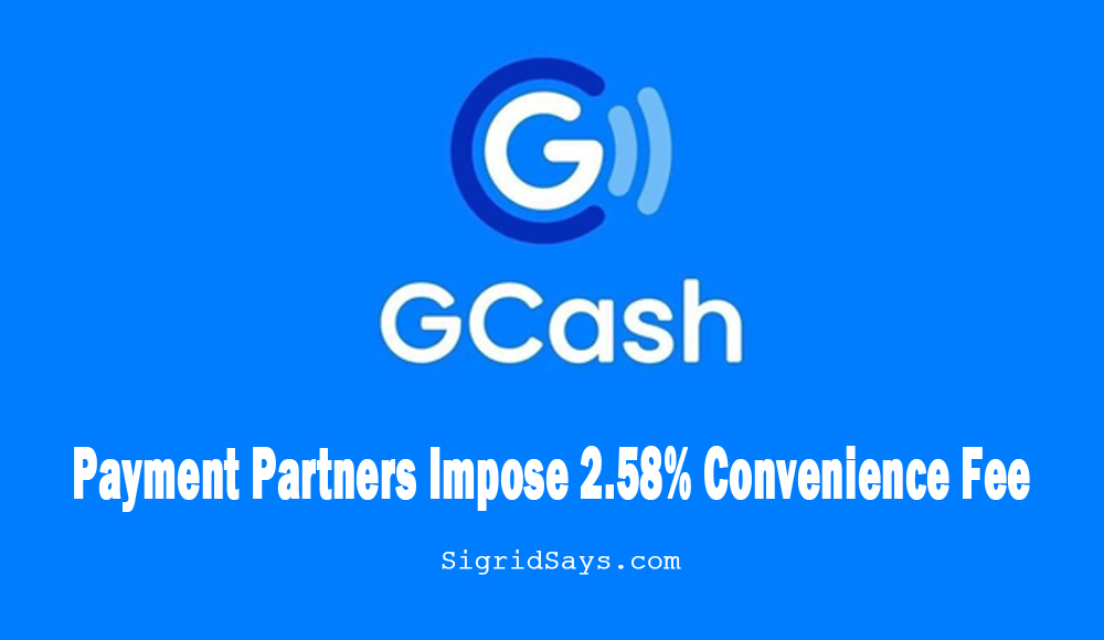 GCash Cash-in Convenience Fee is for Payment Partners