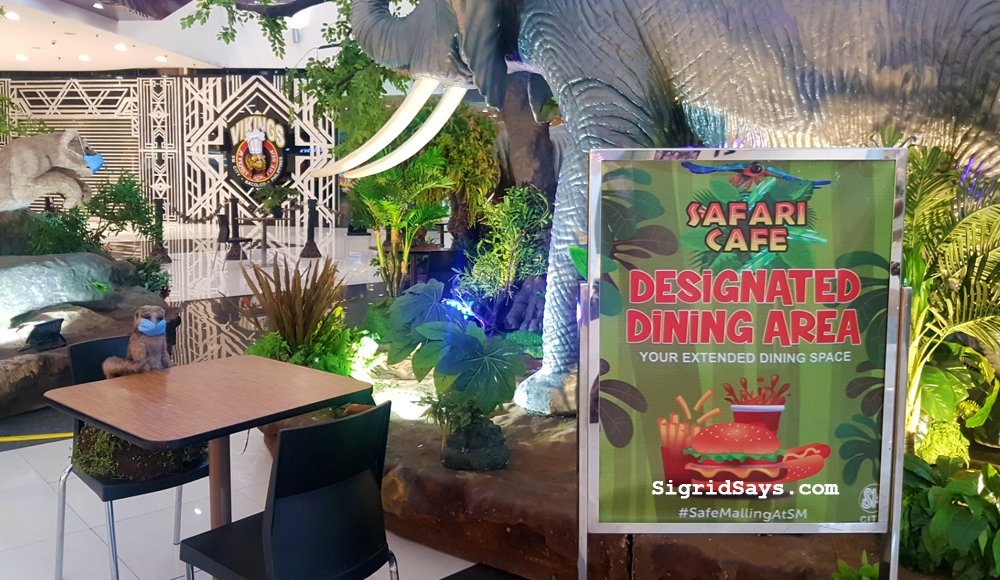 Safari Café at SM City Bacolod Adds Fun to Safe Dining