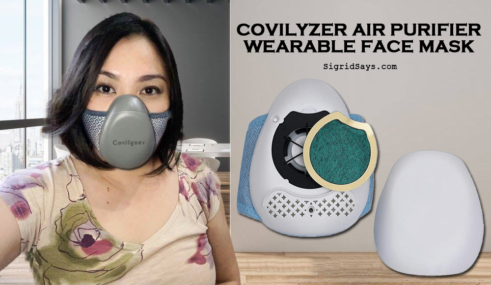 Covilyzer Wearable Air Purifier Face Mask | Covid-19 Safety