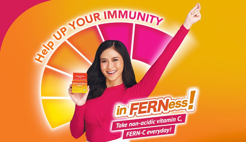 Sarah Geronimo-Guidicelli is the Ambassadress of FERN-C