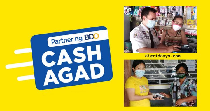 Cash Agad - Partner of BDO - economic recovery - Covid19 - money- pera padala - money transfer service - Philippines