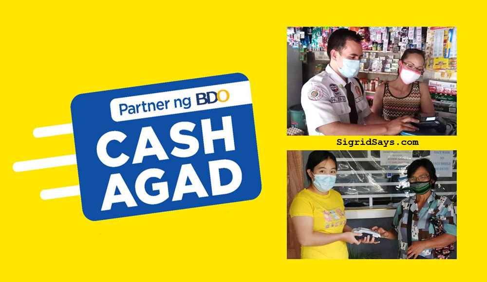 Cash Agad - Partner of BDO - economic recovery - Covid19 - money- pera padala - money transfer service - Philippines