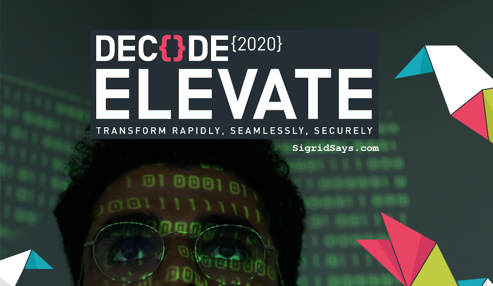 DECODE 2020 Elevate IT Professionals CyberSecurity Conference