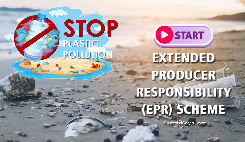 stop plastic pollution in the Philippines - environment - WWF-Philippines - Extended Producer Responsibility - EPR scheme - Save the Seas - garbage on beach